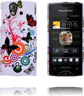 Valentine (Diverse Sirkler & Sommerfugl) Sony Ericsson Xperia Ray Deksel
