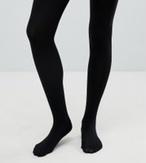 ASOS DESIGN Maternity new improved fit 120 denier tights - Black