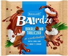 Bakalland - Ba!rdzo tabliczka z wiórkami kokosowymi z dodatkie...