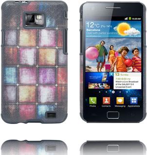 Hero (Diverse Color Squares) Samsung Galaxy S2 Deksel