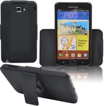 Galaxy Note Bältesklämma Skal (Svart) Samsung Galaxy Note Skal