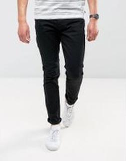 Brave Soul - Svarta jeans med extra smal passform - Svart