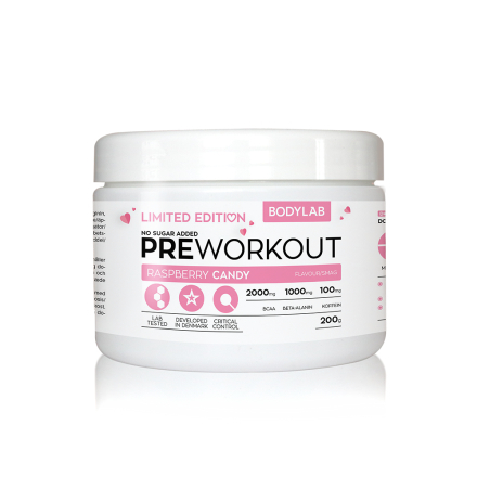 Bodylab Pre Workout (200 g) - Raspberry Candy