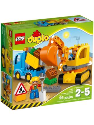 DUPLO 10812 Lastbil og gravemaskine på larvefødder - Proshop