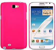 Hard Shell (Hot Rosa) Samsung Galaxy Note 2 Deksel