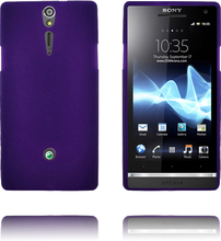 Exclamation Mark Soft Shell (Lilla) Sony Xperia S Deksel