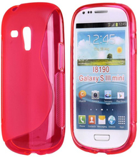 S-Line Transparent (Rosa) Samsung Galaxy S3 Mini Deksel
