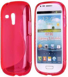 S-Line Transparent (Rosa) Samsung Galaxy S3 Mini Deksel