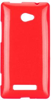 GlitterShell (Rød) HTC 8X Deksel