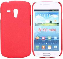 RockSand (Rød) Samsung Galaxy S3 Mini Deksel