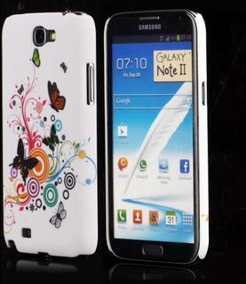 Valentine (Diverse Sirkler & Sommerfugler) Samsung Galaxy Note 2 Deksel