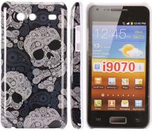 iConic (Stor Hodeskalle) Samsung Galaxy S Advance Deksel