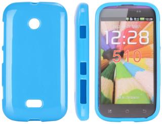 Candy Colors (Blå) Nokia Lumia 510 Deksel