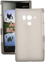 Soft Shell (Grå) Sony Xperia Acro S Deksel