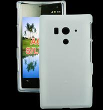 Soft Shell (Hvit) Sony Xperia Acro S Deksel