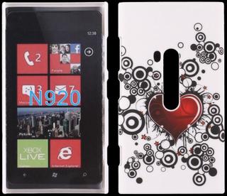 Valentine (Rødt Hjerte) Nokia Lumia 920 Deksel