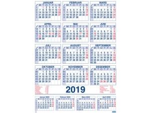 Plakatkalender GRIEG 59x80 cm 2019