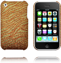 Elements (Gull Copper Bølge) iPhone Deksel for 3G/3GS