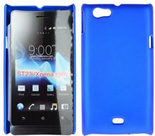 Hard Shell (Blå) Sony Xperia Miro Deksel