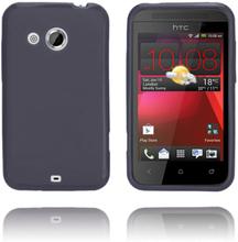 GelCase (Sort) HTC Desire 200 Deksel