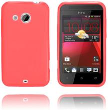 GelCase (Rød) HTC Desire 200 Deksel