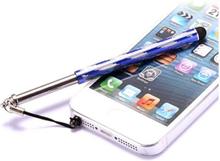 Telescopic Metal Stylus Pen (Blå)