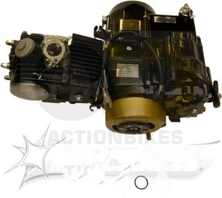 Motor JC125 cc Cross (gir 4/0 / 157FMI / kickstarter)