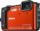 Nikon Coolpix W300 Orange Holiday Kit, Nikon