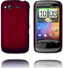 Hard Shell (Rød) HTC Desire S Deksel