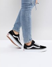 Vans Classic Old Skool black trainers - Black