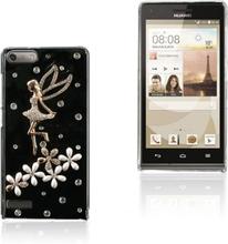 Shine (Engel og Blomster Krystal) Huawei Ascend G6 Deksel