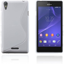 Lagerlöf (Vit) Sony Xperia T3 Skal