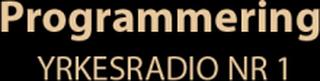 Zodiac 90004 Programmering Yrkesradio nr 1