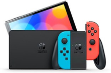 Nintendo Switch (OLED model) neon red/neon blue