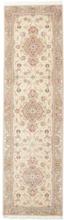 Tabriz 50 Raj med silke matta 90x322 Orientalisk, Avlång Matta