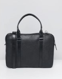 Royal RepubliQ Affinity Leather Laptop Bag In Black - Black