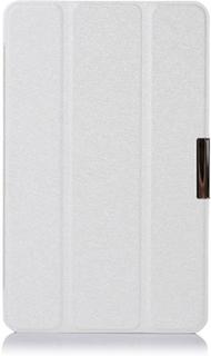 Garff Silk Acer Iconia Tab 8 A1-840 Lær Stand Etui - Hvit