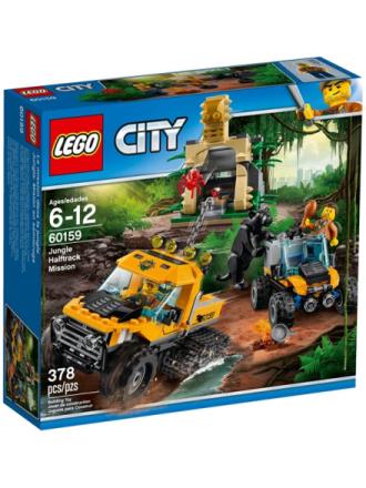 City 60159 Junglemission i hjul- og bæltekøretøj - Proshop
