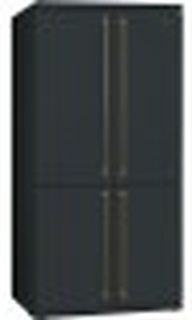 Smeg FQ60CAO-Kyl/frys Med 4 Dörrar Antracit A+ No Frost