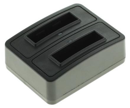 Dubbelladdare för 2 batterier Canon NB-13L