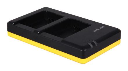 Dubbelladdare för 2 batterier Sony NP-FW50