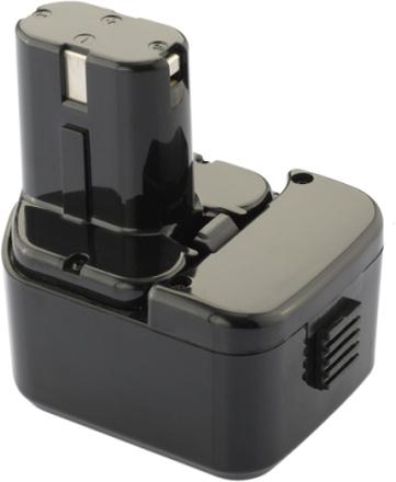 Batteri för Hitachi verktyg - 12V - NiMH - kompatibelt med bl.a. EB1214S/EB 1220HL