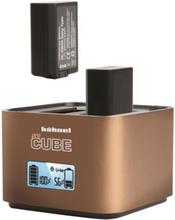 Hähnel ProCube - Professionell dubbelladdare för Sony batterier