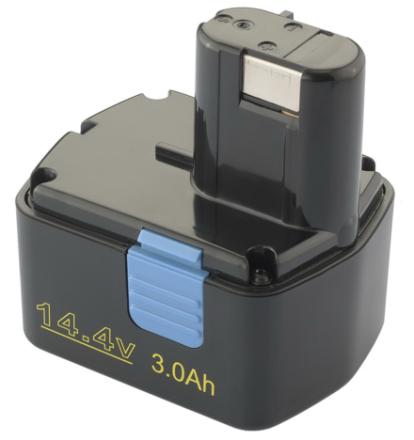 Batteri för Hitachi verktyg - 14,4V - kompatibelt med bl.a. EB1414L, EB1420RS