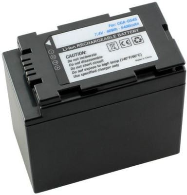 KamerabatteriCGA-D54s/CGR-D54s till Panasonicv