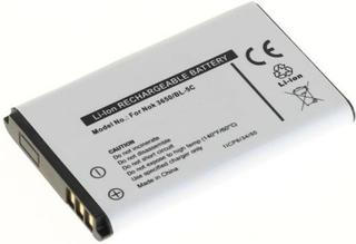 Batteri til bl.a. Nokia 3650, 6230, E60, N91 (BL-5C)