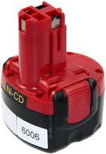Batteri till Bosch verktyg - 9,6V - kompatibelt med bl.a. 2 607 335 540
