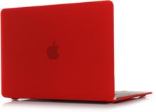 Ancker Macbook 12-inch (2015) Retina Display Etui - Matte Rød