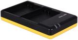 Dubbelladdare för 2 batterier Nikon EN-EL15
