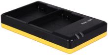 Dubbelladdare för 2 batterier Nikon EN-EL15 / Nikon EN-EL15b